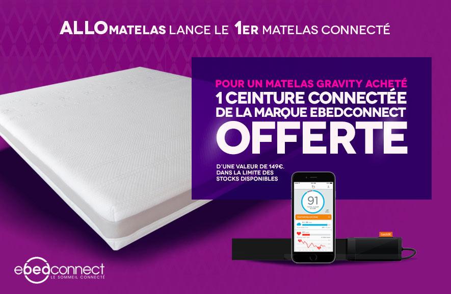 Matelas connecté Ebedconnect