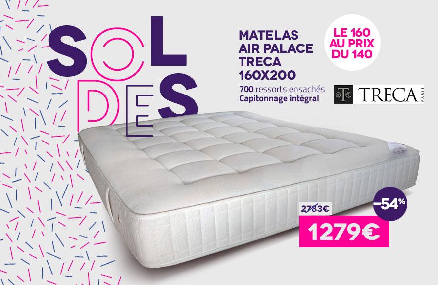 Soldes Matelas Air Palace Treca Juillet 2016