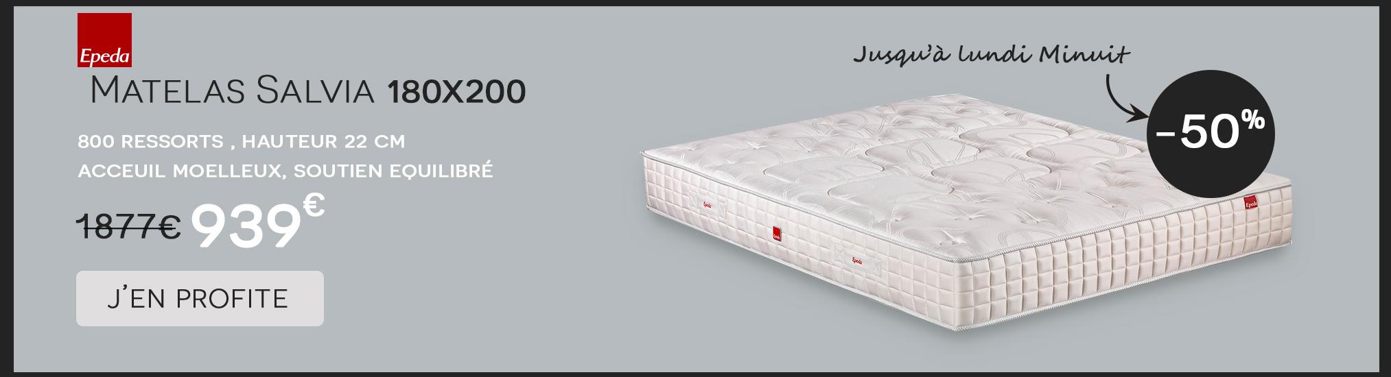Matelas Salvia Epeda 180x200