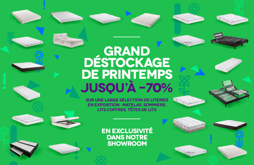 Destockage de Printemps ALLOmatelas