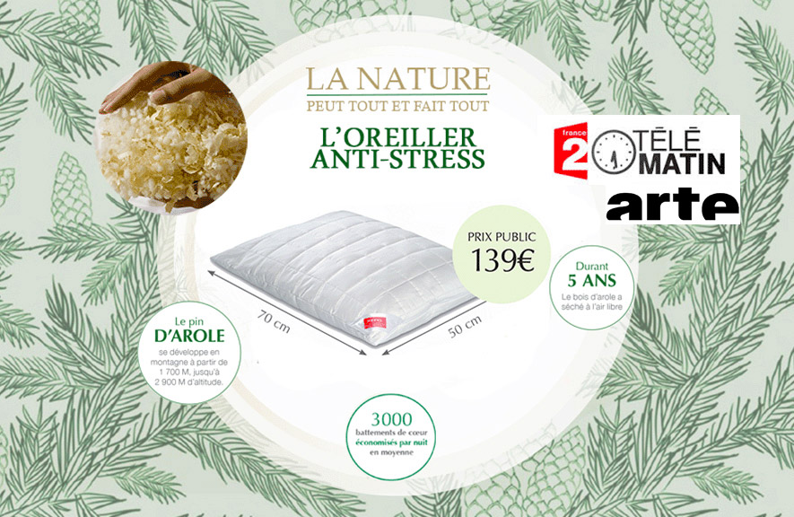 Oreiller Anti Stress ALLOmatelas