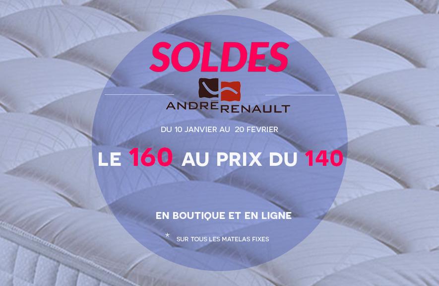 Soldes André Renault le 160 prix du 140