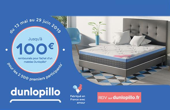 100€ Dunlopillo