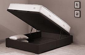 Intérêts des lits coffres et lits à tiroir design.