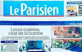 Le Parisien en Parle SOM'Art by ALLOmatelas