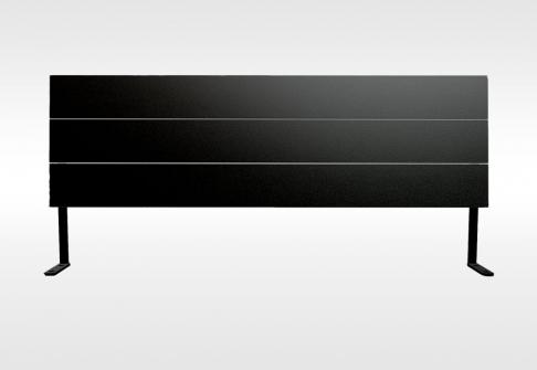 Têtes de lit Bultex Tête de lit 3 BARRES RECTANGULAIRES  160 cm