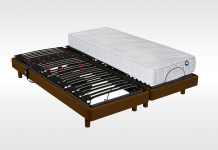 Matelas Mousse Sommiers Relaxation Bultex POP ART SIGMA + I-NOVO 315 2x80x200 (2 pers)