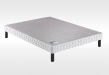 Sommiers Lattes Merinos LATTES CONFORT FERME 3D + PIEDS INTEGRES 160x200 (Queen size)