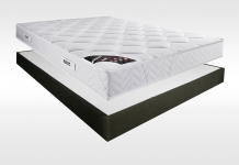 Matelas Latex Sommiers Pirelli ROXANE TRES FERME AMBIANCE 15 CAFE 140x190 (2 pers)