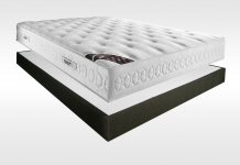 Matelas Latex Sommiers Pirelli CASSANDRE AMBIANCE 15 CAFE 140x190 (2 pers)