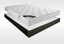 Matelas Latex Sommiers Pirelli SALOME AMBIANCE 15 CAFE 140x190 (2 pers)