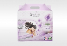 Draps housse ALLOmatelas SWEET LAVENDER 180x200 (King size)