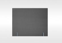 Têtes de lit Dunlopillo DOSSERET 100 BRUN 140 cm