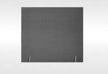 Têtes de lit Dunlopillo DOSSERET 120 BRUN 140 cm