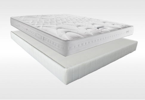 Matelas Ressorts Sommiers Simmons SPECIAL DOS SENSIBLE DORSOLAT  140x190 (2 pers)