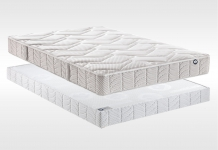 Matelas Mousse Sommiers Bultex INOVO 910 CONFORT FERME 180x200 (2 pers) duo