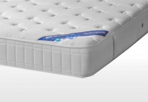 Matelas Ressorts Sommiers Simmons ROMANCE DORSOLAT  140x190 (2 pers)
