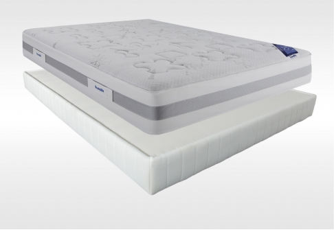Matelas Latex Sommiers Dunlopillo CONNECTING 5 DORSOLAT  140x190 (2 pers)