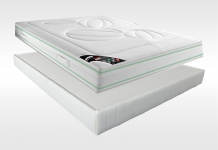 Matelas Latex Sommiers Dunlopillo HEVEANE DORSOLAT 180x200 (2 pers) duo