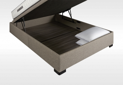 Sommiers Coffres Simmons SOMMIER COFFRE  140x190 (2 pers)