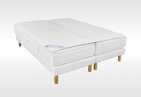 Matelas Ressorts Sommiers Duvivier Duo Gala confort Mousse  140x190 (2 pers)