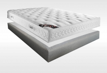 Matelas Latex Sommiers Dunlopillo CASSANDRE MADISON 15 140x190 (2 pers)