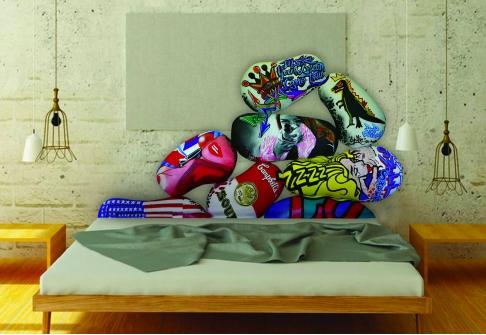 Lits Déco SOM'ART  ESPION  160x200 (Queen size)