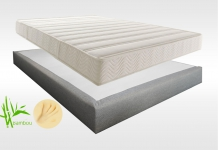 Matelas Mémoire de forme Sommiers Lovely Bed NATURE FORME MADISON 15 140x190 (2 pers)