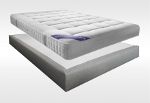 Matelas Ressorts Sommiers Simmons EMERAUDE MADISON 15 180x200 (2 pers) duo