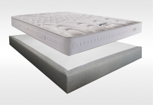 Matelas Ressorts Sommiers Simmons SPECIAL DOS SENSIBLE 2016 MADISON 15 180x200 (2 pers) duo