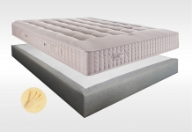 Matelas Mémoire de forme Sommiers Simmons SELECT 1100 VISCO MADISON 15 140x190 (2 pers)