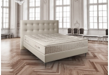 Matelas Ressorts Sommiers Treca IMPERIAL PULLMAN FERME + SOM TRESOR SOFT SPRING 20 GENUA TAUPE 180x200 (2 pers) duo