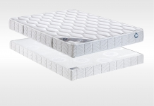 Matelas Mousse Sommiers Bultex INOVO 100 CONFORT FERME 180x200 (2 pers) duo