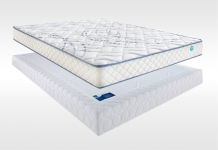 Matelas Mousse Sommiers Merinos MEKY LATTES CONFORT FERME 180x200 (2 pers) duo