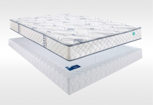 Matelas Ressorts Sommiers Merinos STUNY LATTES CONFORT FERME 140x190 (2 pers)