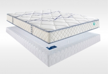 Matelas Latex Sommiers Merinos HOMEA LATTES CONFORT FERME 140x190 (2 pers)