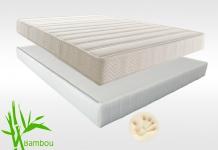 Matelas Mémoire de forme Sommiers Lovely Bed NATURE FORME DORSOLAT 180x200 (2 pers) duo