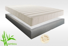 Matelas Mémoire de forme Sommiers Lovely Bed NATURE FORME MADISON 15 180x200 (2 pers) duo