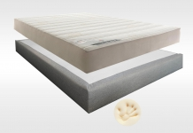 Matelas Mémoire de forme Sommiers Lovely Bed MEMORY TOUCH MADISON 15 180x200 (2 pers) duo