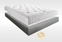 Matelas Mémoire de forme Sommiers Simmons SELECT 1100 VISCO MADISON 15 180x200 (2 pers) duo