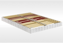 Sommier Lattes Bultex CONFORT FERME MORPHO 5 ZONES 140x190 (2 pers)