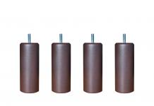 Pieds ALLOmatelas PIEDS CHOCOLAT METALLISE 15 cm
