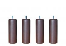 Pieds ALLOmatelas PIEDS CHOCOLAT METALLISE 20 CM 20 cm