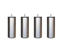 Pieds de lit ALLOmatelas PIEDS CYLINDRIQUE INOX 15 CM 15 cm
