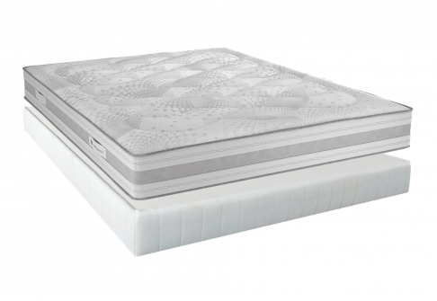 Matelas Latex Sommiers André Renault NEO SKY DORSOLAT  140x190 (2 pers)