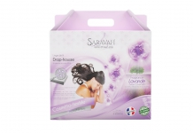 Drap housse ALLOmatelas SWEET LAVENDER 180x200 (King size)