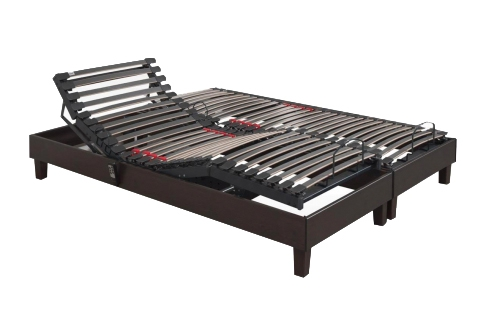 Sommier Électrique Lovely Bed SENSAFLEX  2x90x200 (2 pers)