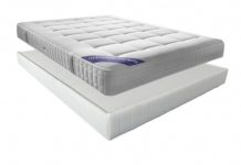 Matelas Ressorts Sommiers Simmons EMERAUDE DORSOLAT 140x190 (2 pers)
