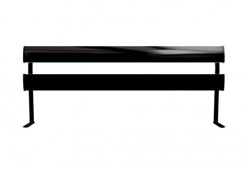 Tête de lit Epéda Tête de lit RELAXATION 2 BARRES ARRONDIES  160 cm