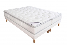 Matelas Ressorts Sommiers Duvivier DUO GALA LUXE MOUSSE 140x190 (2 pers)